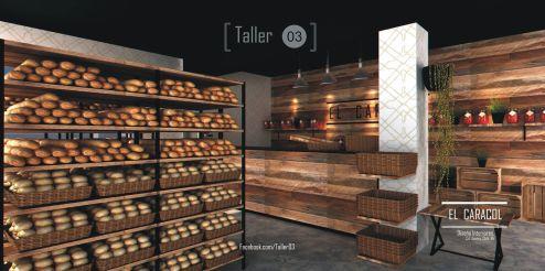 Panaderia, Arquitectos Cd. Juárez, Erick Morales, Arquitecto, Diseño Interior, Taller 03, Arquitectura, interiorismo, mobiliario.
