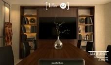 Sala de Juntas, Arquitectos Cd. Juárez, Erick Morales, Arquitecto, Diseño Interior, Taller 03, Arquitectura, interiorismo, mobiliario.